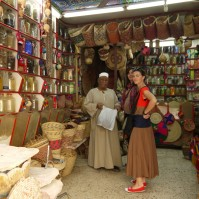 Egypt, Aswan - Spice shop