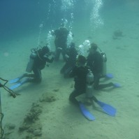 Egypt, Dahab - PADI open water cert