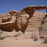 Jordan, Wadi Rum - Stone arch