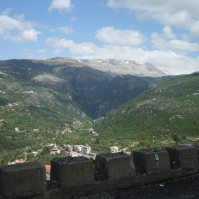 Lebanon, Bcharre - Road