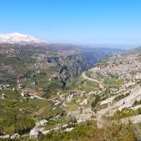 Lebanon, Bcharre - Town
