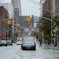 USA, NYC - Hurricane Sandy before