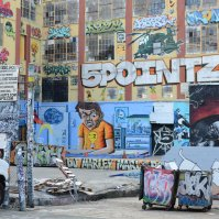 USA, NYC - Queens 5pointz