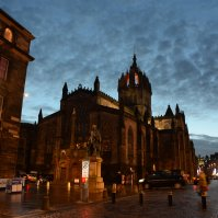 Scotland, Edinburgh - Giles Cathedral