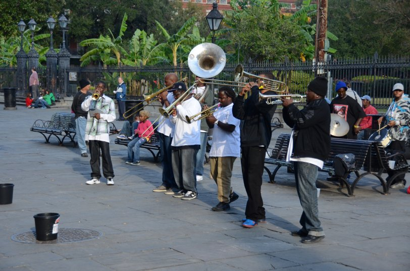 2012.11.06 USA - new orleans jazz band